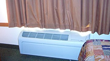 PTAC Heating A/C unit with FreeFlow I in use